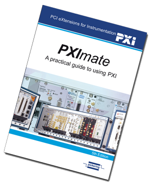 PXImate book - a free practical guide to PXI systems from Pickering Intrefaces