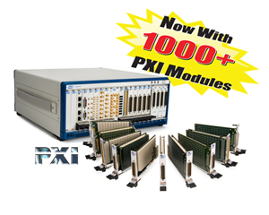1000+ PXI switch & simulation modules from Pickering