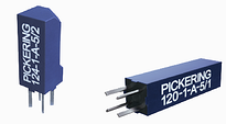 High-density reed relays from Pickering Electronics