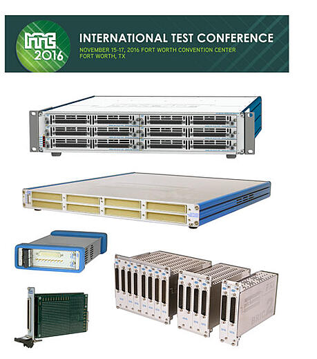 Pickering to showcase PXI & LXI Switching for Semiconductor Test at ITC 2016