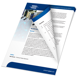 accelerating integration in automatic test systems white paper